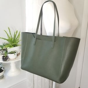 NEW Urban Expressions - faux leather dark green